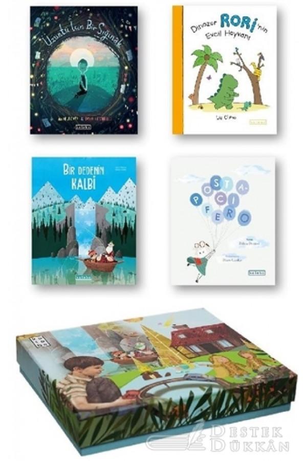 Ketebe Çocuk Kutulu Set 2 (4 Kitap Takım)