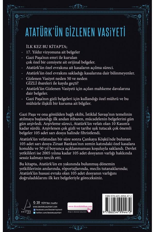 Atatürkün Gizlenen Vasiyeti