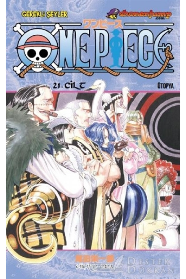 One Piece 21. Cilt