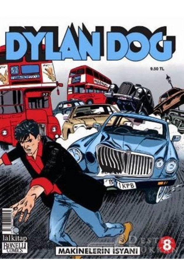 Dylan Dog Sayı : 8 - Makinelerin İsyanı