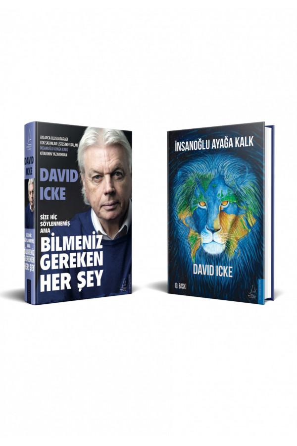 David Icke Seti (2 Kitap)