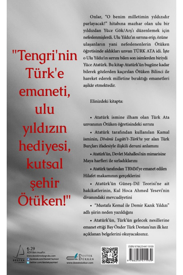 Atatürk'ün Sırrı Ötüken