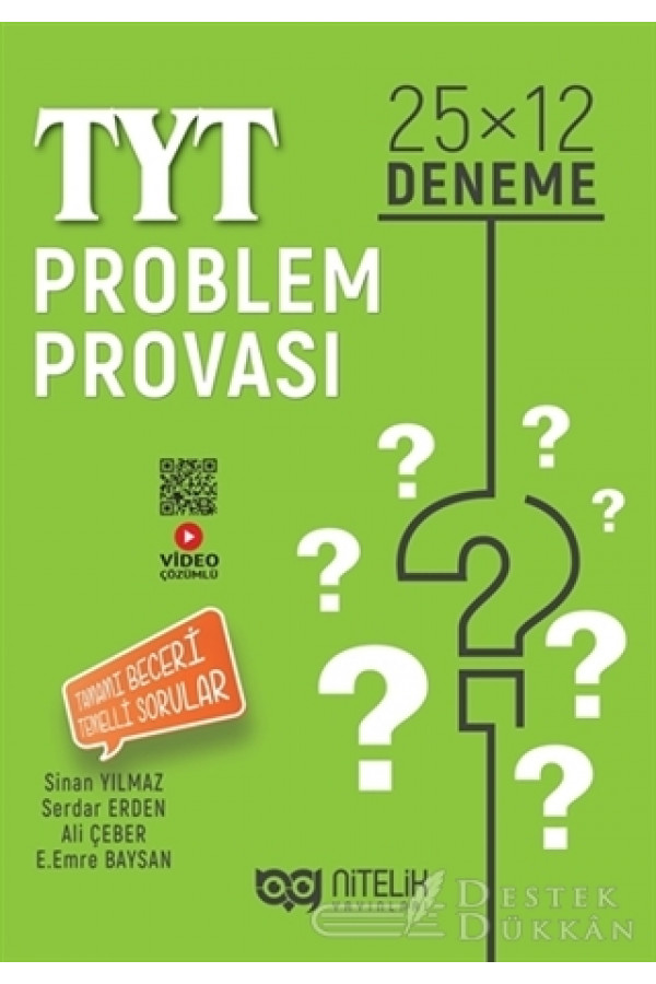 TYT Problem Provası 25x12 Deneme