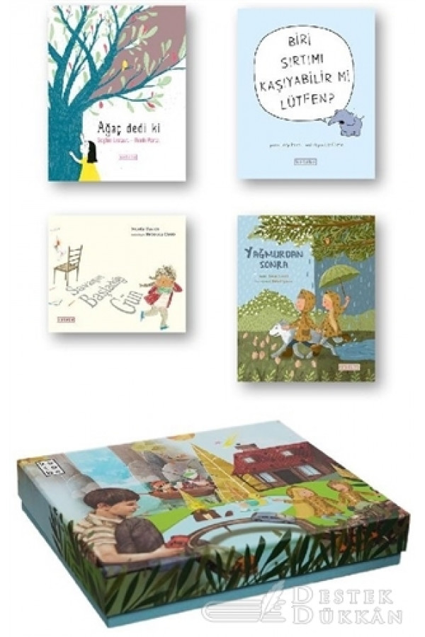 Ketebe Çocuk Kutulu Set 4 (4 Kitap Takım)